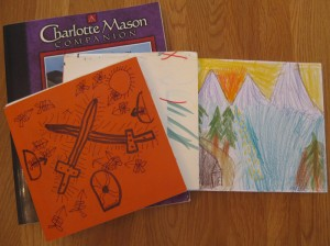 Charlotte Mason-inspired nature journals