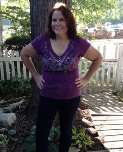 Me this past summer on my 37th anniversary. Healthier and happier.