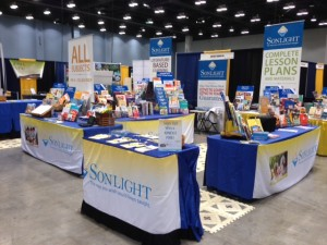Sonlight booth in Cincinnati