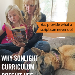 Why Sonlight Curriculum Doesn't Use Parent Scripts