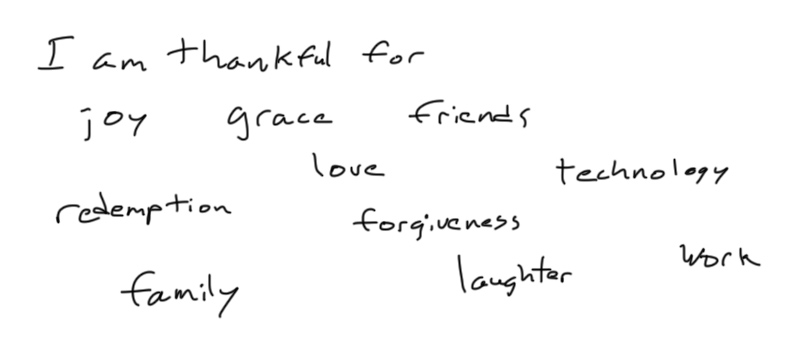 Thankful-List