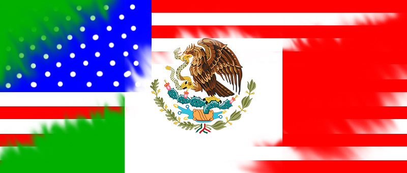 Mexico-American-Flag