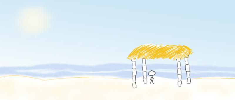 Beach-Shelter