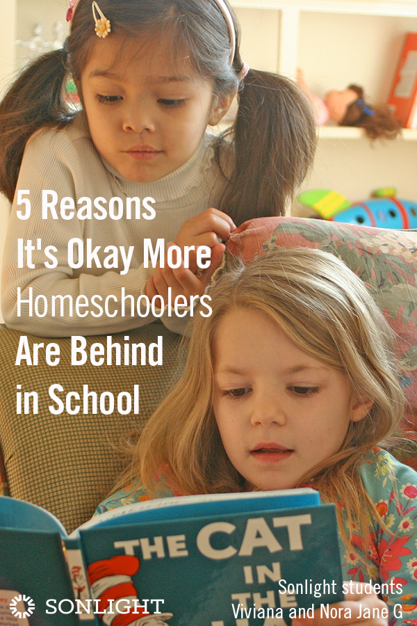 5 Reasons It's Okay More Homeschoolers Are Behind in School
