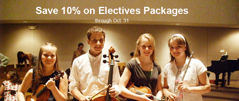 Save 10% on Homeschool Electives