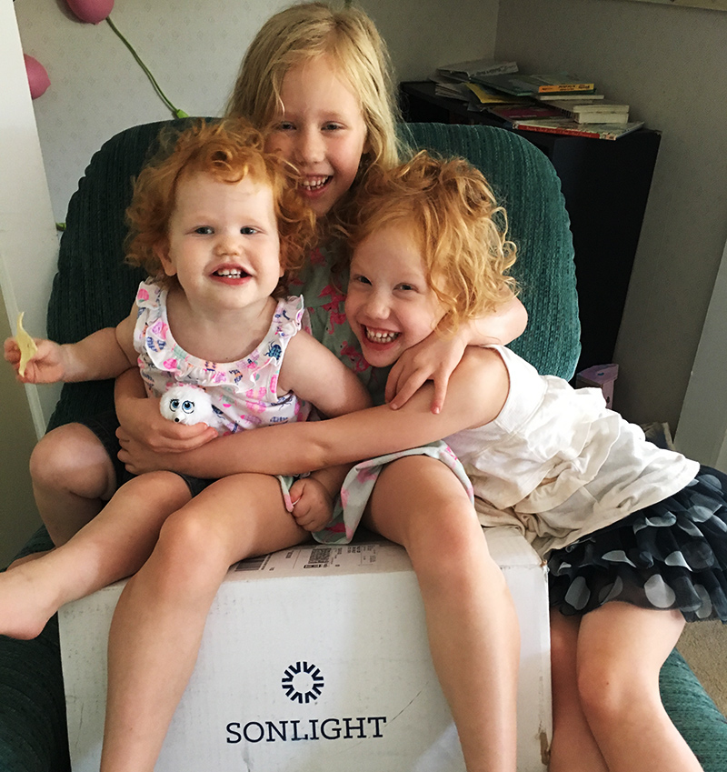 Shelley C.'s Sonlight Box Day
