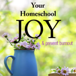 10 Ways to Rediscover Your Homeschool Joy and Prevent Burnout