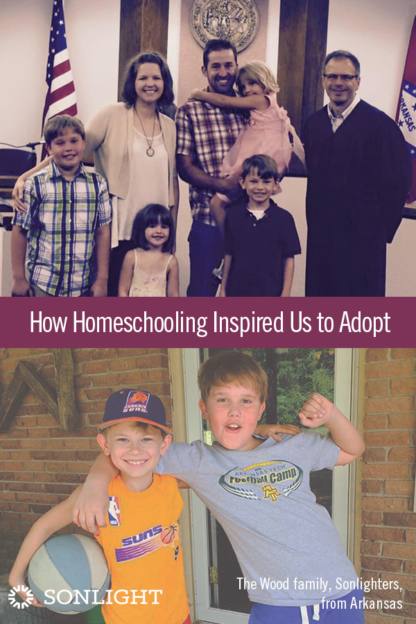 How Homeschooling Inspired Us to Adopt