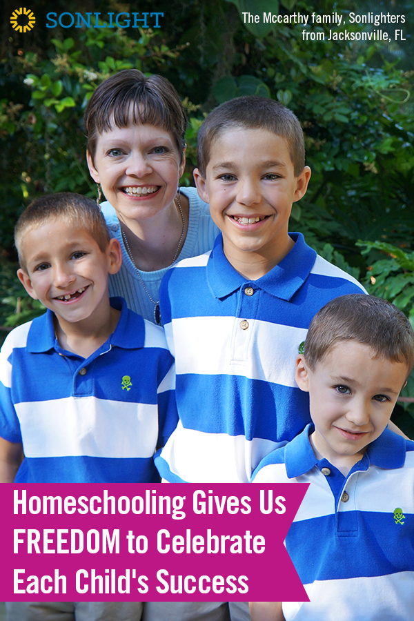 Homeschooling Gives Us Freedom to Celebrate Each Child's Success