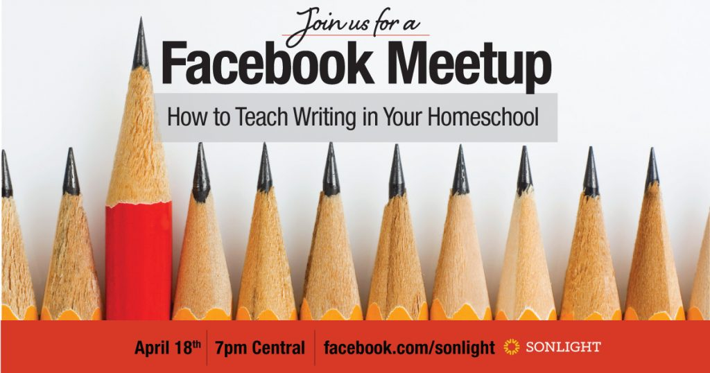 How to Teach Writing in Your Homeschool Facebook Meetup