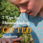 7 Tips for Homeschooling Gifted Students • accelerated learners • special needs
