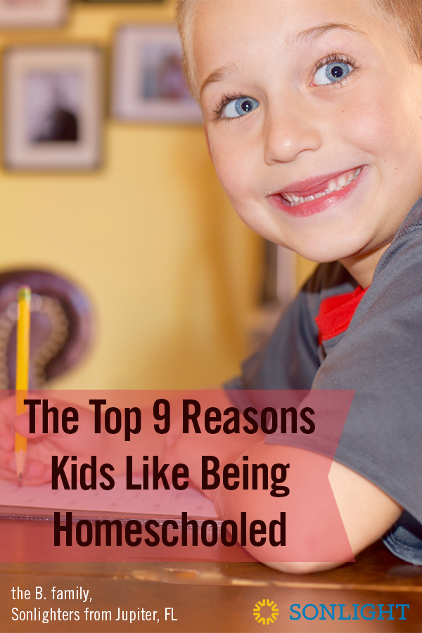 The Top 9 Reasons Kids Like Being Homeschooled | reasons to homeschool | benefits of homeschooling