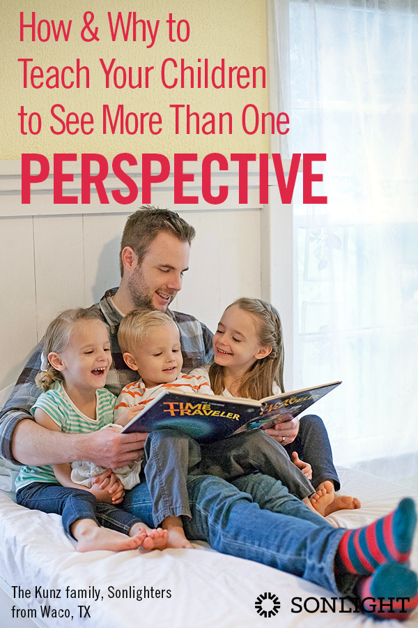 How and Why to Teach Your Children to See More Than One Perspective • homeschool