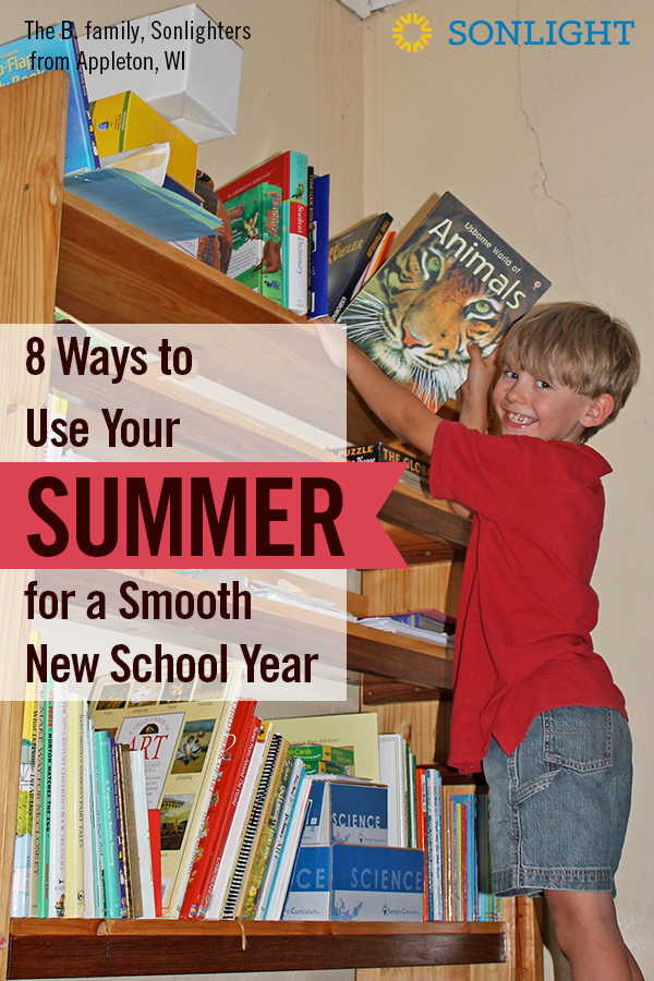 8 Ways to Use Your Summer for a Smooth New School Year