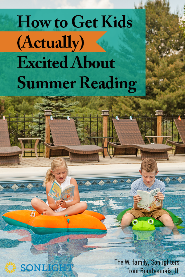 How to Get Kids (Actually) Excited About Summer Reading