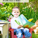 3 Brilliant Ways to Foster a Love for Reading in the First Five Years • preschool literacy • preK reading readiness