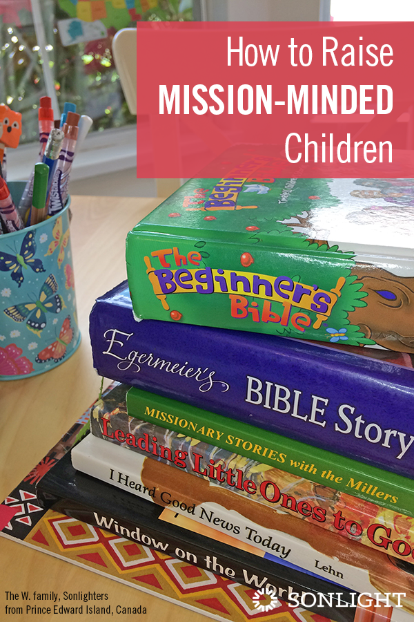 How to Raise Mission-minded Children • Homeschooling provides an excellent opportunity to raise mission-minded children, passing on our heart to reach the world with the Gospel.