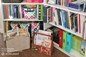Reasons to Keep (and Not Resell) Your Used Homeschool Curriculum • building a home library