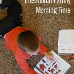 Planning an Intentional Family Morning Time