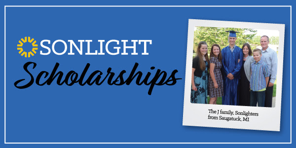 Sonlight offers college scholarships