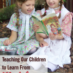 Teaching Our Children to Learn From Mistakes with Read-Alouds