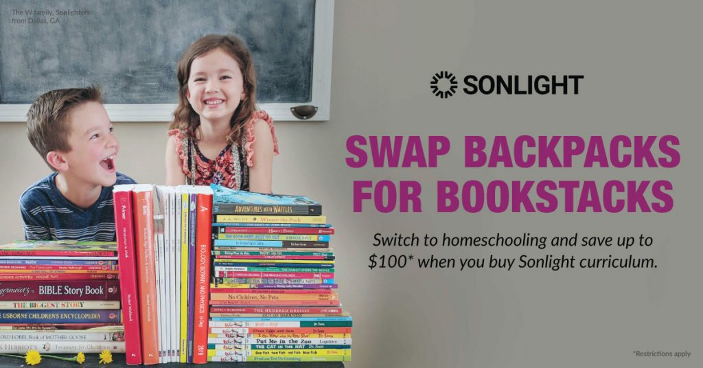 Switch to Homeschooling with Sonlight