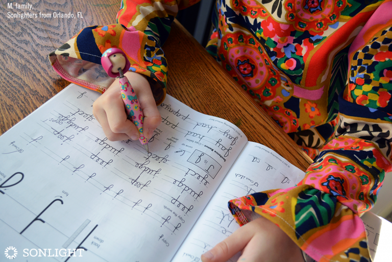Encouraging Your Child in Handwriting and Penmanship