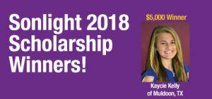 2018 Sonlight Scholarship Winners
