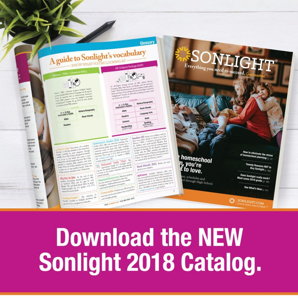 These five books are just a small taste of all the goodness that is Sonlight.  Get your copy of the Sonlight catalog today to see all we have for you and  ...