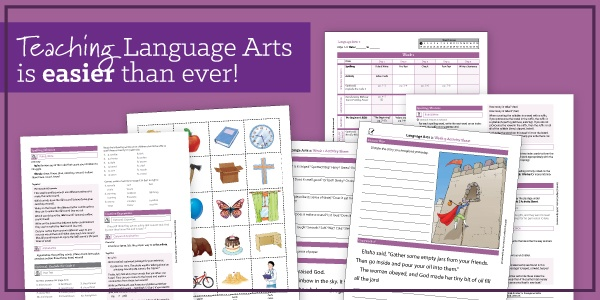 Teaching Language Arts is easier than ever