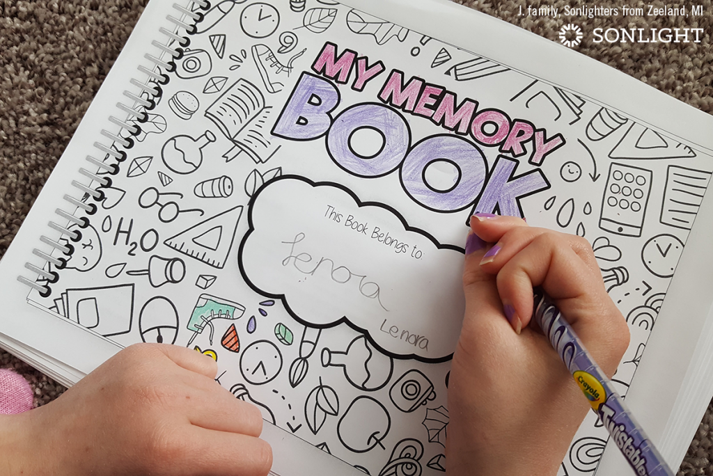 How and Why We Document Our Homeschool Year • Sonlight's Memory Book