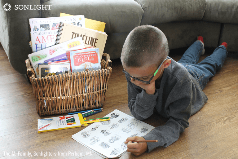 The Easy Change That Made Sonlight Work for My Son with ADHD
