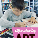 Afterschooling Art at Home When School Doesn't Provide It