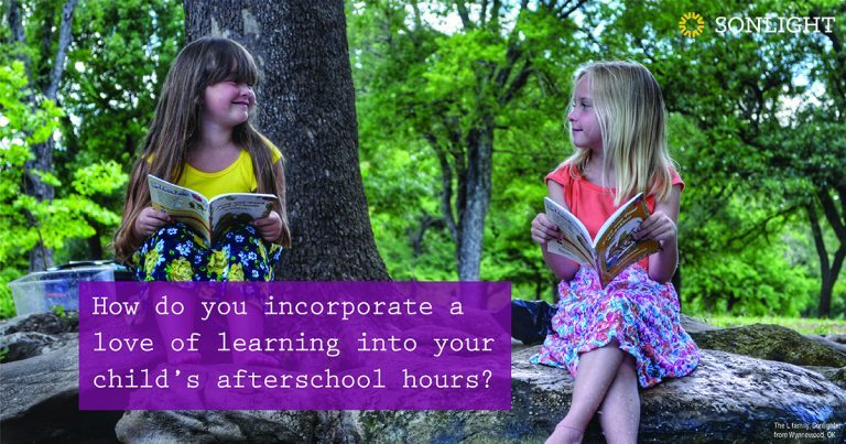 Afterschooling: How to incorporate a love of learning into your child's afterschool hours.