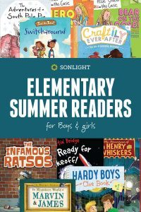 Elementary Summer Readers • Sonlight Summer Readers: Mom's Secret for #Winning Book Choices