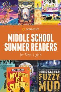 Middle School Summer Readers • Sonlight Summer Readers: Mom's Secret for #Winning Book Choices