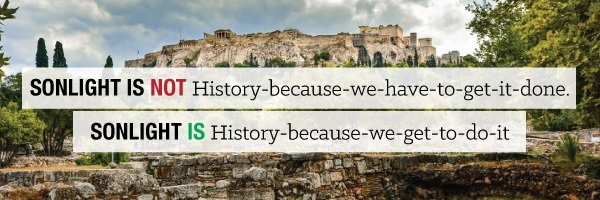 This is not History-because-we-have-to-get-it-done. This is History-because-we-get-to-do-it.