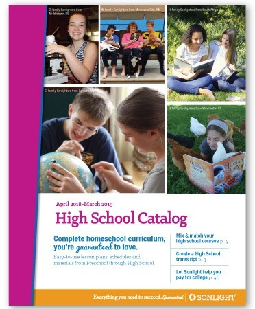 Sonlight High School Catalog