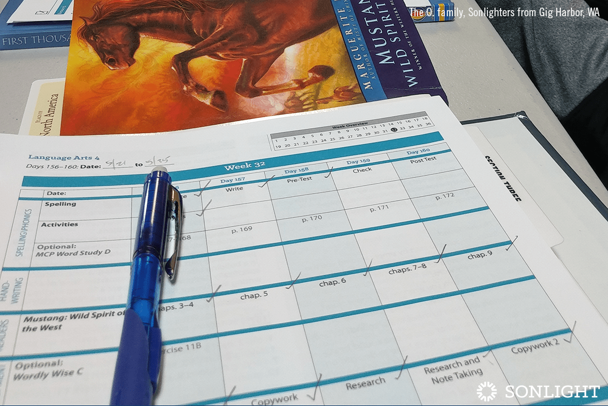 How to Make and Use a Loop Schedule for Homeschool
