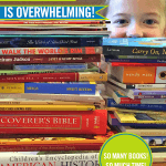 Yes Sonlight can seem overwhelming on Box Day and especially if you aren't used to so much one-on-one reading time with your children.But in several meaningful and wonderful ways,Sonlight is not overwhelming at all.