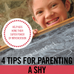4 Tips for Parenting Shy or Anxious Children • help your kids with modeling and practicing
