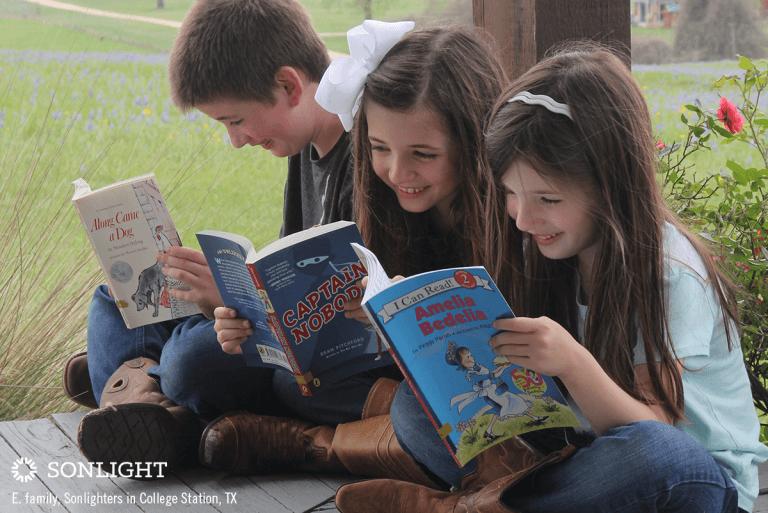 A Day in the Life: Homeschooling Multiple Children