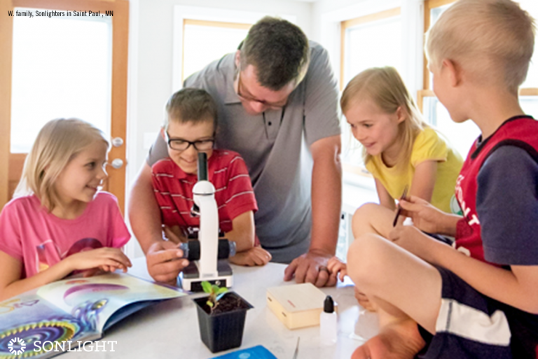 A Typical Day in the Life of a Large Family Homeschool