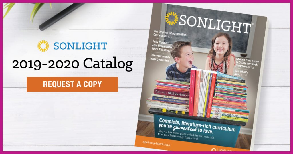 Request a Sonlight curriculum catalog