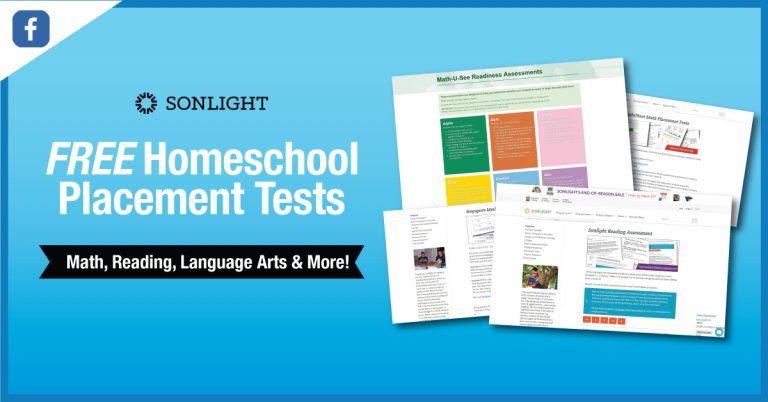 Homeschool Placement Tests