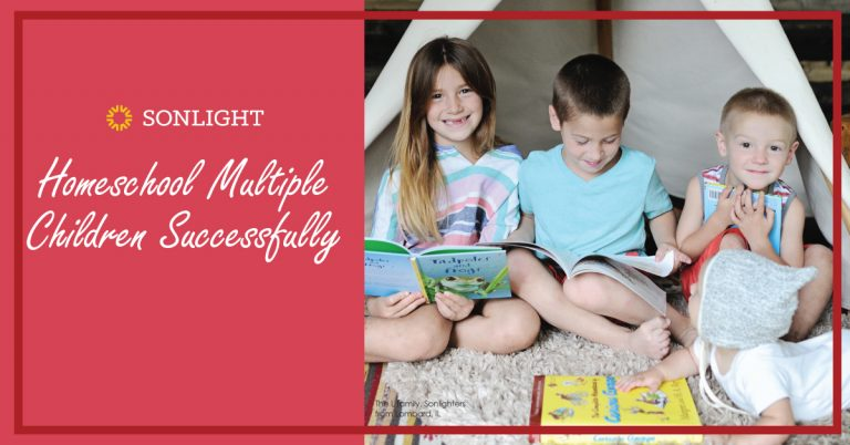 Sonlight makes it easier to teach multiple ages by dividing our curriculum into two types of subjects: Couch and Table Subjects.