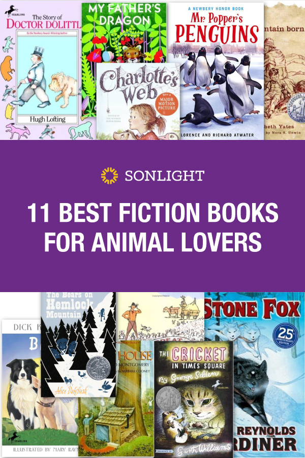 16-11 Best Fiction Books for Animal Lovers