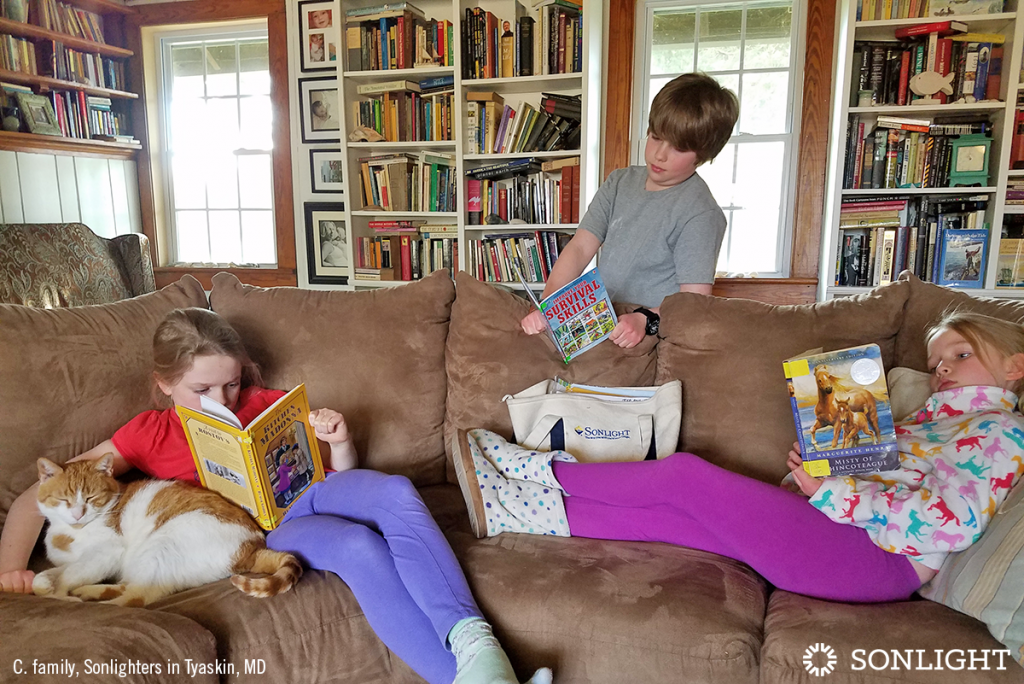 Teaching Household Life-skills in a Mixed-age Homeschool Family