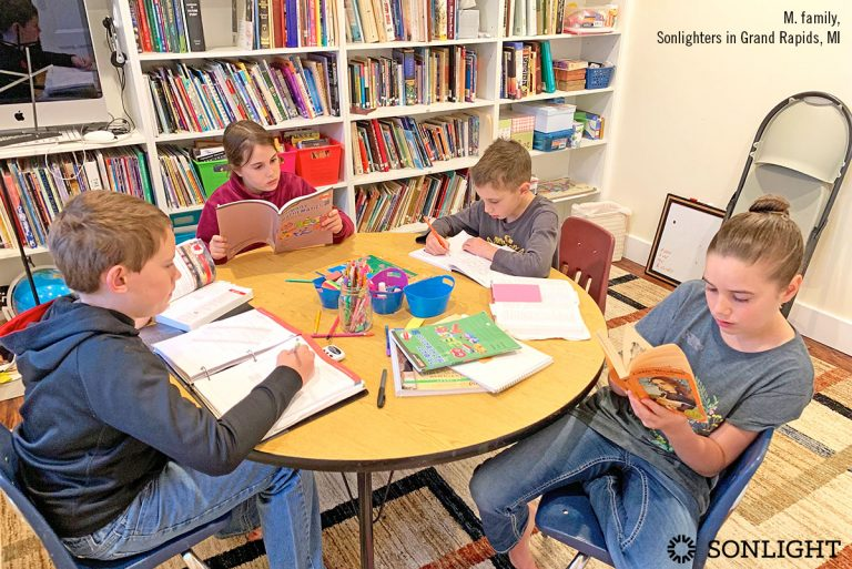 5 Tips for Homeschool Organization in Small Spaces