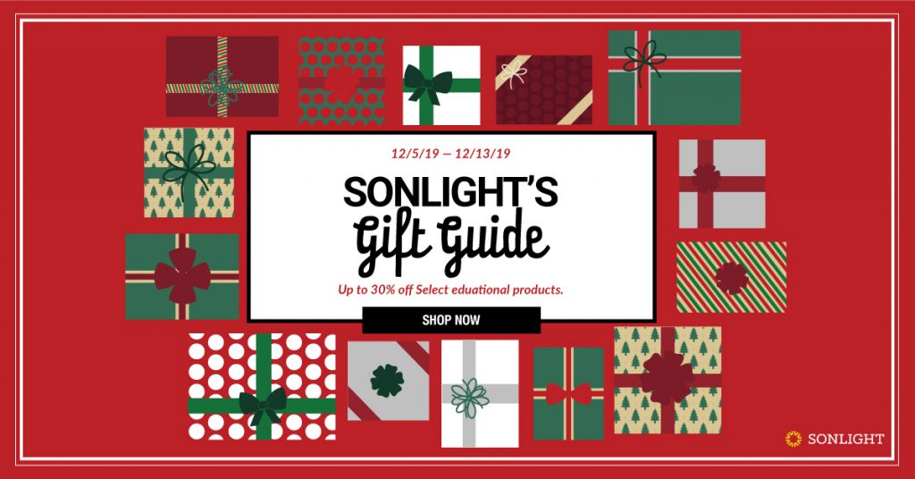 Sonlight's Christmas Gift Guide
